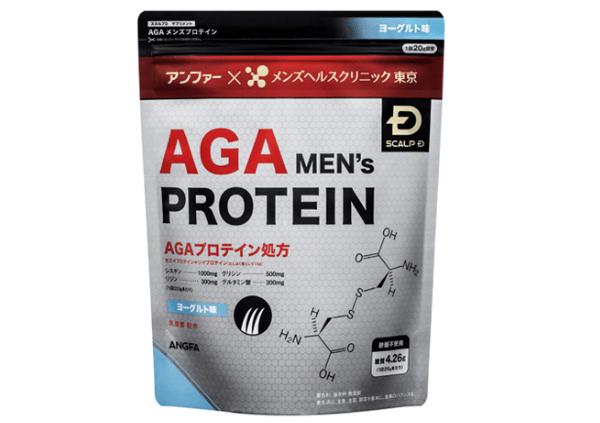 AGAプロテインの効果と私の評価!育毛には【成分が弱い】かな!?