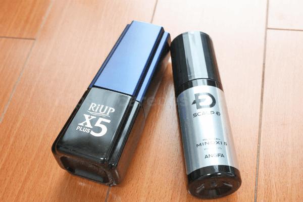 【2019年版】メディカルミノキ5とリアップx5を比較した結果どっち?